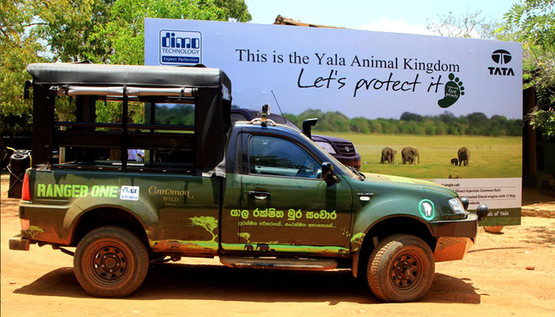 Donation of a Patrol Jeep to Yala National Park for Law Enforcement Activities