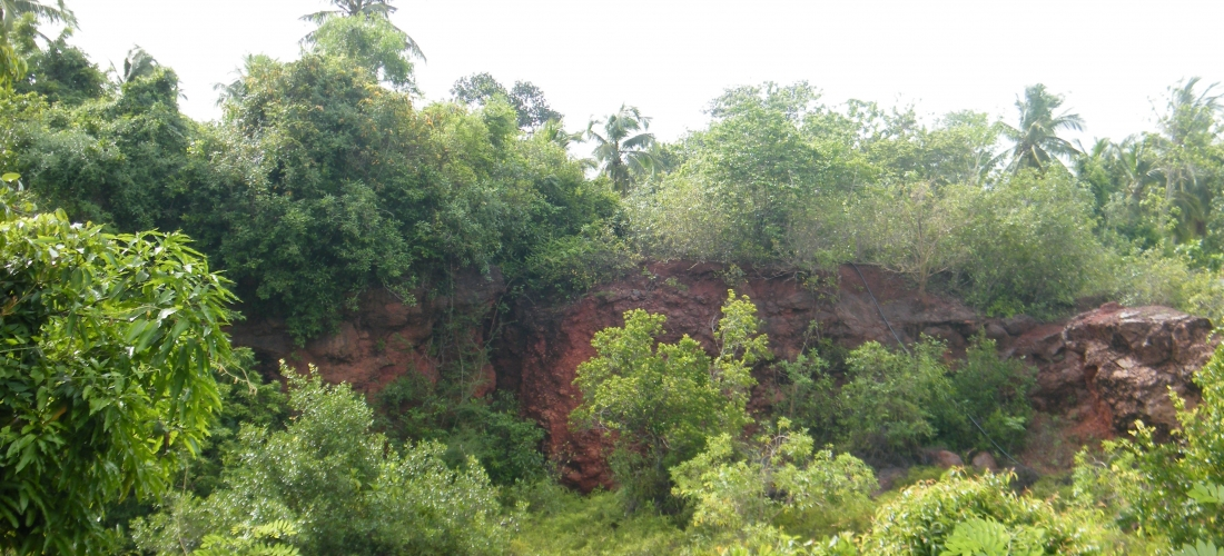 Gravel Mining at Thambagalla, Madampe