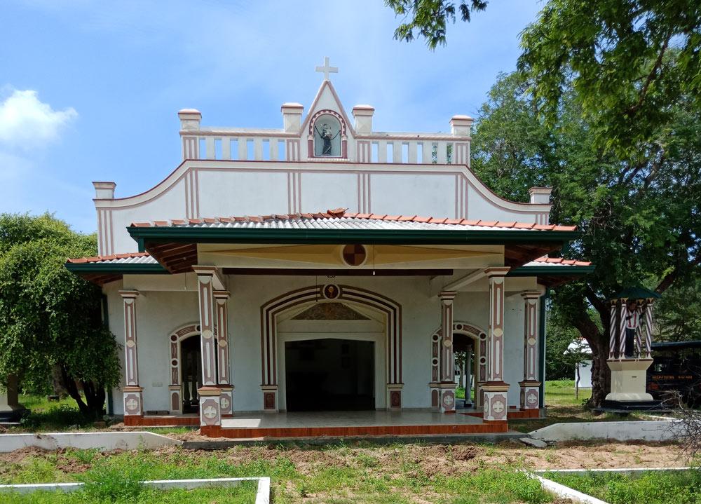 Pallekhandal Church within Wilpattu National Park