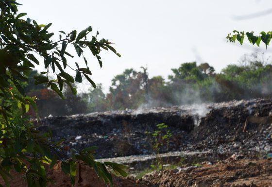 Garbage Dump in Thiruperunthurai, Batticaloa