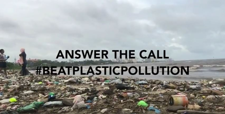 Video on plastic pollution