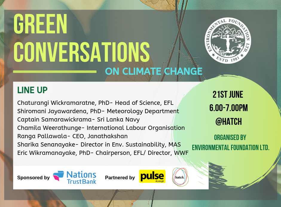 Green Conversations 3- Climate Change